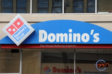 213_Dominos _2_ _ outdoor sign_